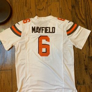 the latest 62076 4fb5a Baker mayfield Jersey NWT